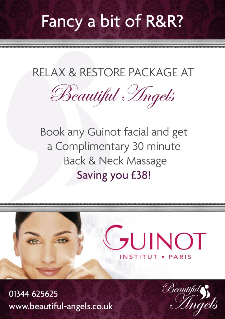 Beautiful Angels free neck and back massage